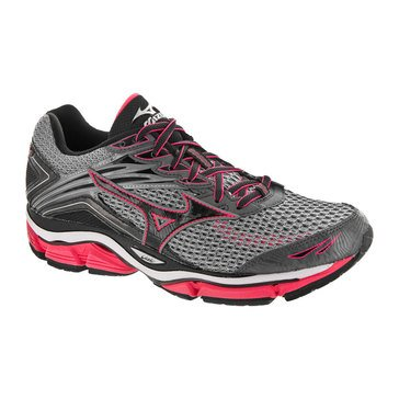 Mizuno Wave Enigma 6 Women's Running Shoe Quarry/ Diva Pink/ Black