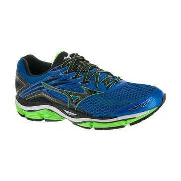 Mizuno Wave Enigma 6 Men's Running Shoe Skydiver/  Black/  Green Gecko