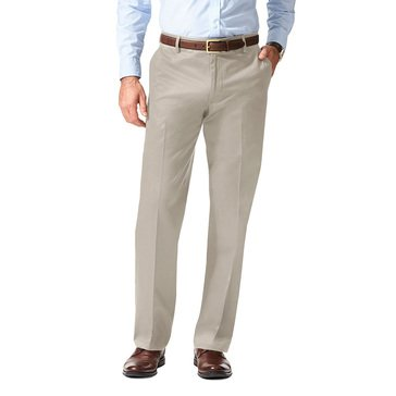 Dockers Signature Khaki Straight Fit Flat Front Pants