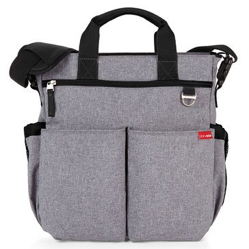 Skip Hop Duo Diaper Bag, Heather Grey