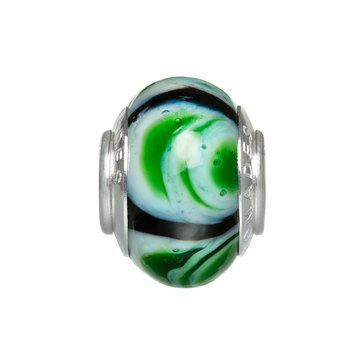 Nomades Lilypad Murano Glass Spacer