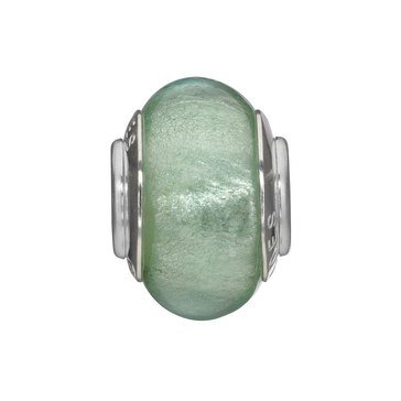Nomades Gulf Green Murano Glass Spacer