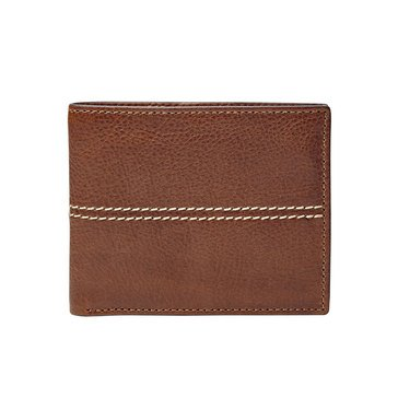 Fossil Turk Bifold Front Pocket ID Wallet - Brown