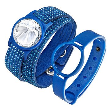 Swarovski Shine Slake Blue Activity Crystal Tracker Set