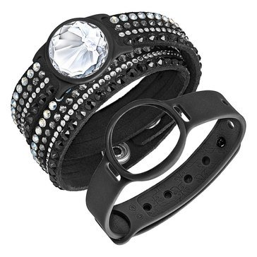 Swarovski Shine Slake Black Deluxe Activity Crystal Tracker Set