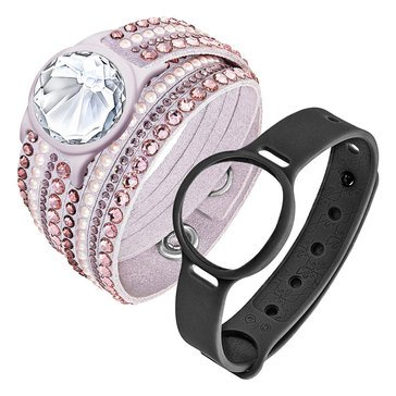 Swarovski Shine Slake Pink Deluxe Activity Crystal Tracker Set