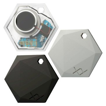 XY Find It Bluetooth Item Finder Beacon 3-pack - Classic Crystal, Onyx, Silver