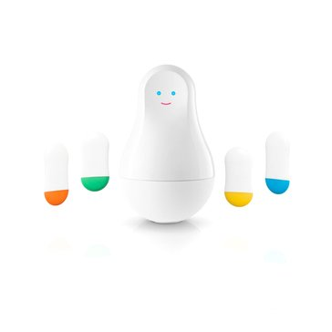 Sen.se Mother and 4 Motion Sensor Cookies - White (MOM4CO-US)