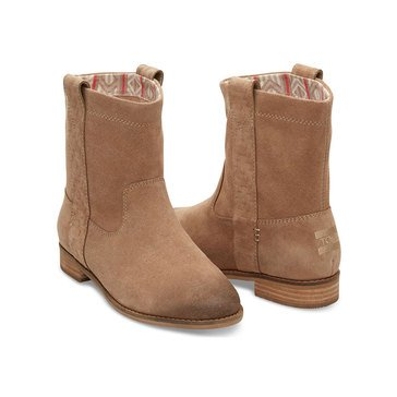 Toms Laurel Women's Pull On Bootie Amphora Burnished Suede