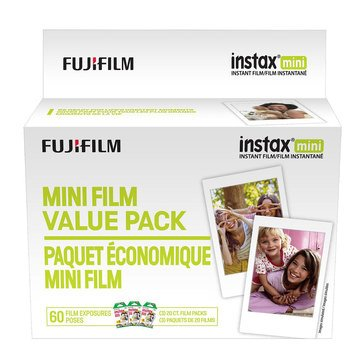 Fuji Instax Mini Value Film Pack 60EXP