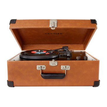 Crosley Keepsake Portable USB Turntable - Tan