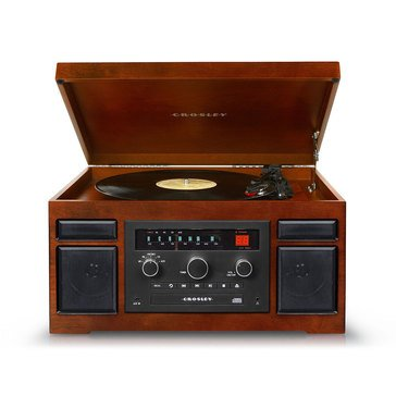 Crosley Patriarch 4-in-1 Turntable Entertainment Center - Mahogany