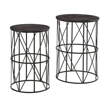 Marxim Nesting Tables - Dark Bronze