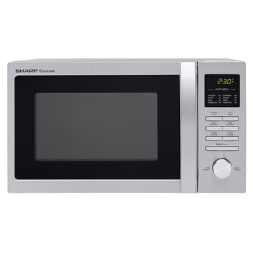 Sharp Compact 900W Countertop Microwave (R248BS)