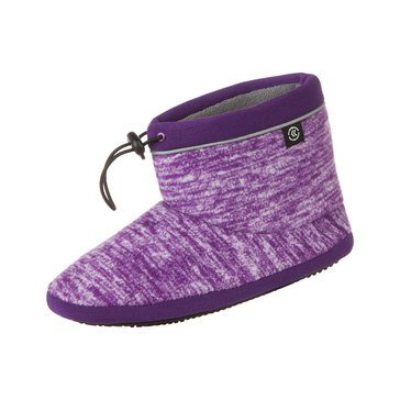 Totes Space Dye Fleece Leslie Boot Slippers
