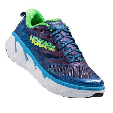 Hoka One One  Conquest 3 Men's Running Shoe Astral Aura/ Neon Green