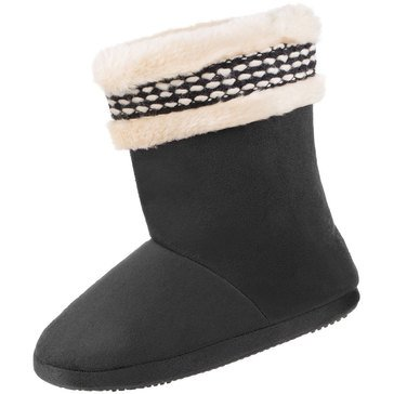 Totes Microsuede Erica Boot Slippers