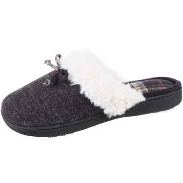Totes Brushed Sweater Knit Carin Clog Slippers