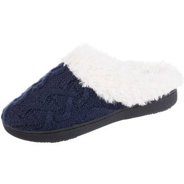 Totes Cable Knit Bridget Clog Slippers