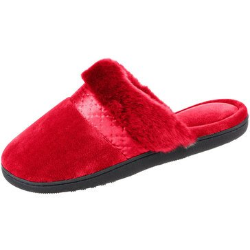 Totes Velour Diane Clog Slippers