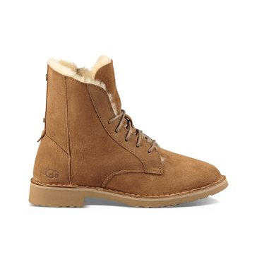 UGG Quincy Lace Up Boot Chestnut