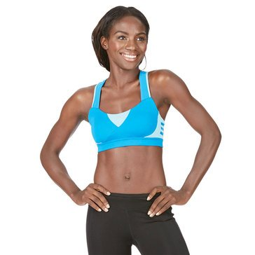Adidas Women's Supernova Running Sports Bra in Turquoise