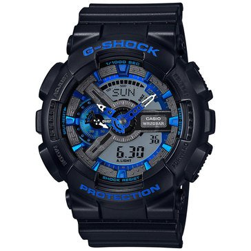 Casio G-Shock Men's Analog Digital Watch GA110CB-1A, Blue/ Black 55mm