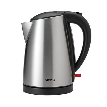 Aroma 1.7L Electric Water Kettle, Stainless Steel