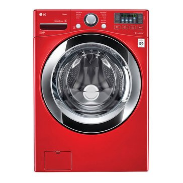 LG 4.5-Cu.Ft. Front Load Washer, Red (WM3670HRA)