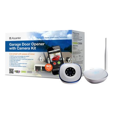 Asante Garage Door Opener with Camera Kit (99-00900-US)