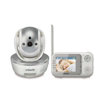 VTech Safe & Sound Full Color Video Baby Monitor w/Pan & Tilt Camera