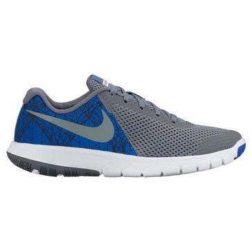 Nike Flex Experience 5 Print Boys' Running Shoe Game Royal/Cool Grey