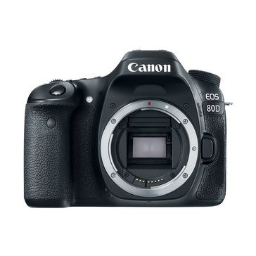 Canon EOS 80D 24.2MP DSLR Camera - Body Only