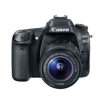 Canon EOS 80D 24.2MP DSLR Camera with 18-55 STM Lens Kit