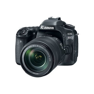Canon EOS 80D 24.2MP DSLR Camera with 18-135 USM Lens Kit