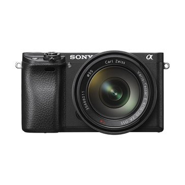 Sony Alpha A6300 24.2MP Mirrorless Digital Camera with Built-in WiFi, NFC, and 16-50MM Lens