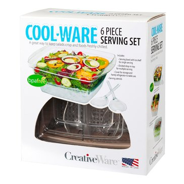 CreativeWare Cool-Ware 6-Piece Serving Set