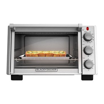 Black & Decker 6-Slice Stainless Steel Toaster Oven (TO2050S)