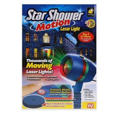 As Seen on TV Star Shower Motion Laser Light Projector‎