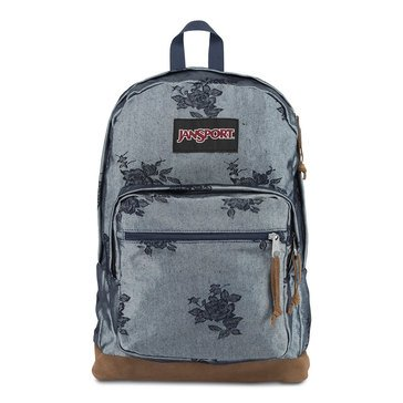 Jansport Right Pack Expressions - Silver Rose Jacquard