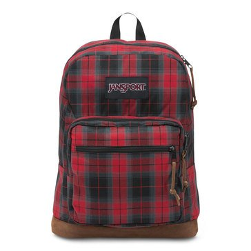 Jansport Right Pack Digital Edition- Red Tape Plaid