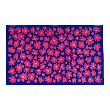 Vera Bradley Throw Blanket Art Poppies