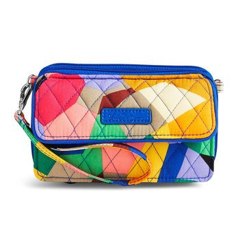 Vera Bradley All in One Crossbody for iPhone 6+ Pop Art