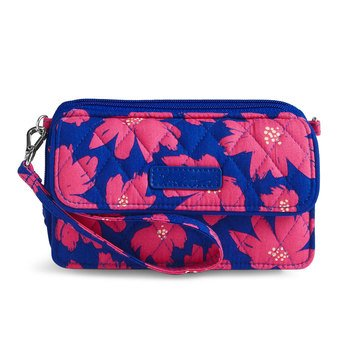 Vera Bradley All in One Crossbody for iPhone 6+ Art Poppies