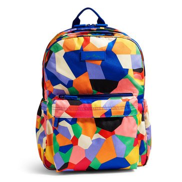 Vera Bradley Lighten Up Laptop Grande Backpack Pop Art