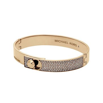 Michael Kors Gold Tone Detail Bangle