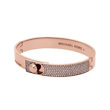 Michael Kors Rose Gold Tone Detail Bangle