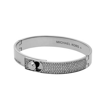 Michael Kors Silver Tone Detail Bangle