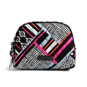 Vera Bradley Medium Zip Cosmetic Northern Stripes