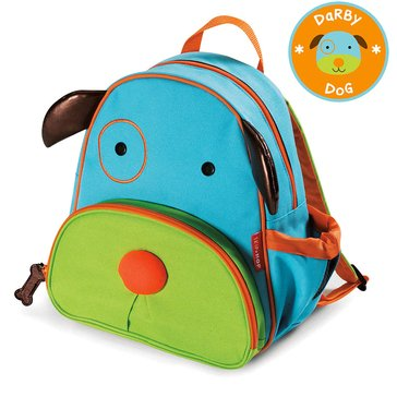 Skip Hop Zoo Little Kids' Backpack, Dog